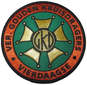 Extra patch for members - Association of Gold Medallists Four Days